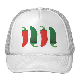 Red N Green Hot Peppers Trucker Hat