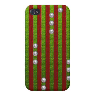 'Red n Green' iPhone4 case iPhone 4/4S Cases