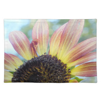 Red N Yellow Sunflower Placemat