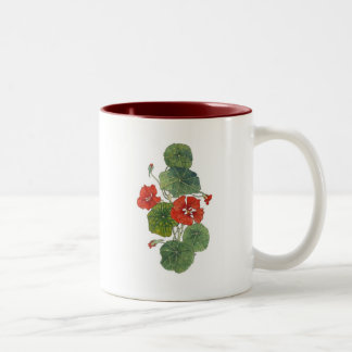 Red Nasturtium Mug