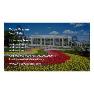 Red National Gallery of Canada Ottawa Ontario fl Business Cards