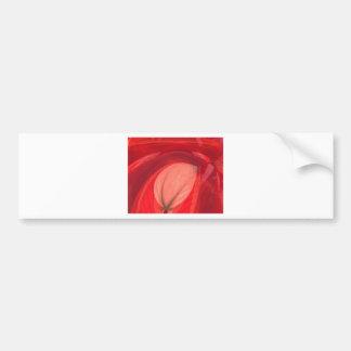 Red Nature Bumper Sticker