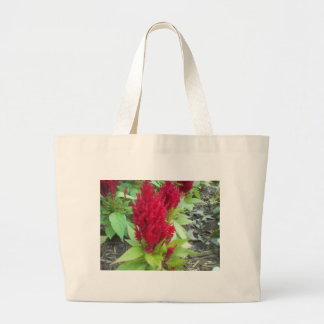 Red Nature Large Tote Bag