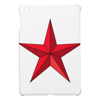 Red Nautical Star Case For The iPad Mini