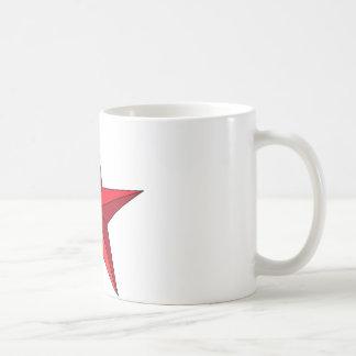 Red Nautical Star Coffee Mug