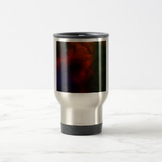 Red Nebula 15 Oz Stainless Steel Travel Mug