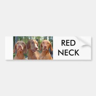 RED NECK BUMPER STICKER