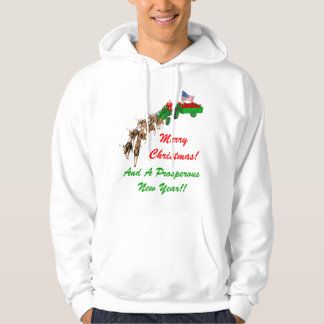 Red Neck Christmas Hoodie