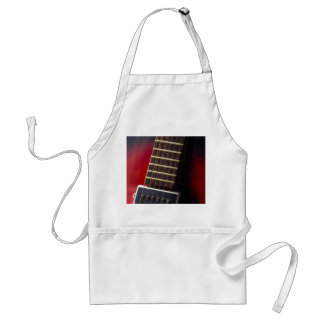 Red Neck HollowBody Guitar Pick-up Adult Apron
