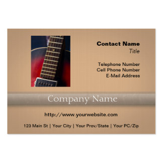Red Neck HollowBody Guitar Pick-up Business Card