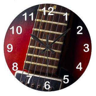 Red Neck HollowBody Guitar Pick-up Wallclock