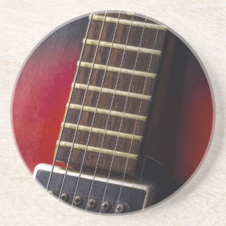 Red Neck HollowBody Guitar Pick-up Drink Coaster