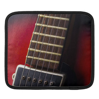 Red Neck HollowBody Guitar Pick-up iPad Sleeves