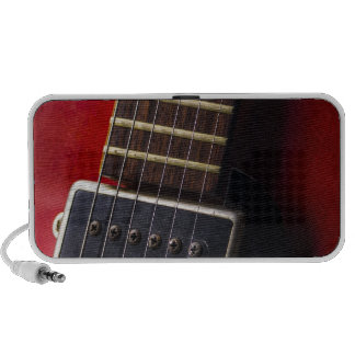 Red Neck HollowBody Guitar Pick-up iPod Speaker