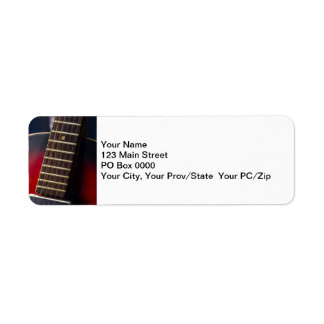 Red Neck HollowBody Guitar Pick-up Labels