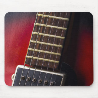 Red Neck HollowBody Guitar Pick-up Mouse Pad