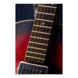 Red Neck HollowBody Guitar Pick-up Posters
