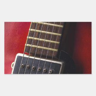 Red Neck HollowBody Guitar Pick-up Rectangular Sticker