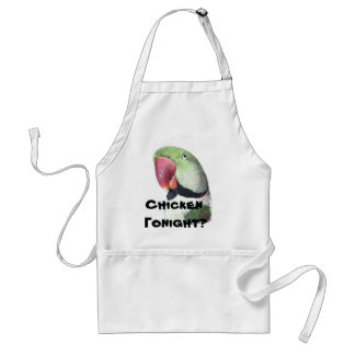 Red Neck Parakeet Products Adult Apron
