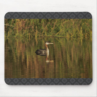 Red-necked Grebe Mousepads