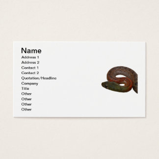 Red-Necked Keelback Business Card