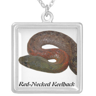 Red-Necked Keelback Personalized Necklace