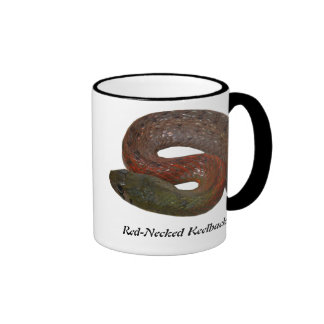 Red-Necked Keelback Ringer Coffee Mug