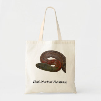 Red-Necked Keelback Tote Bags