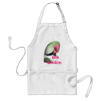 Red Necked Parakeet Adult Apron