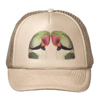 Red Necked Parakeet Trucker Hat