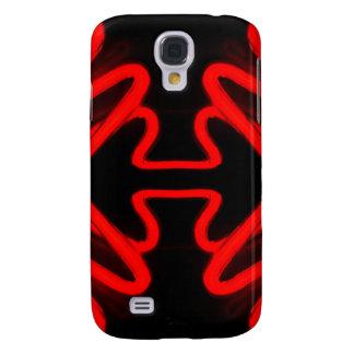 Red Neon by CricketDiane Samsung Galaxy S4 Case