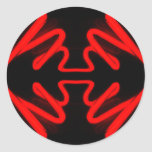 Red Neon by CricketDiane Sticker