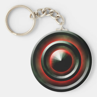 Red Neon Key Chains