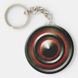 Red Neon Keychain