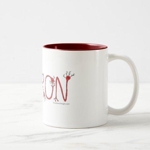 Red Neuron Coffee Mug