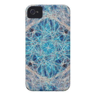 Red neuronal iPhone 4 Case-Mate protector