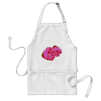 Red New Guinea Impatiens Coordinating Items Adult Apron