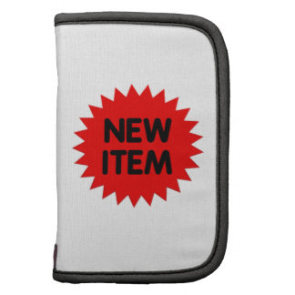 Red New Item Planners