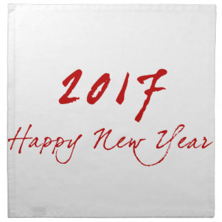 Red New-Year Napkin