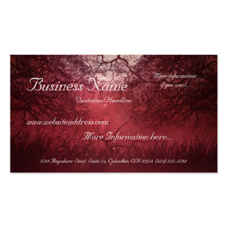Red Night Business Card