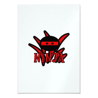Red Ninja Card
