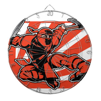Red Ninja Dart Boards