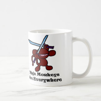 Red Ninja Overhead Mug