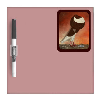 Red Norwich Cropper Pigeon Dry-Erase Boards