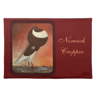 Red Norwich Cropper Pigeon Placemat