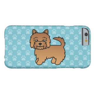 Red Norwich Terrier Barely There iPhone 6 Case