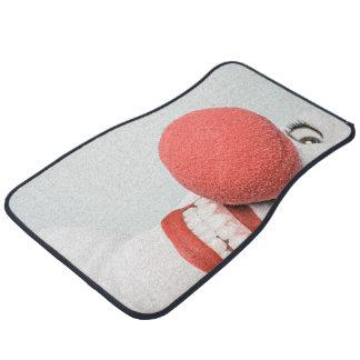 Red nose clown car mat