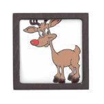 Red Nose Rudolph Premium Keepsake Box