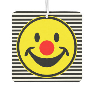 Red Nose Smiley yellow + your backg. & ideas