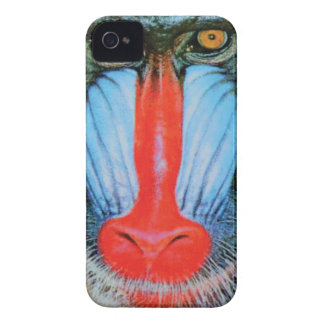 red nosed baboon iPhone 4 case